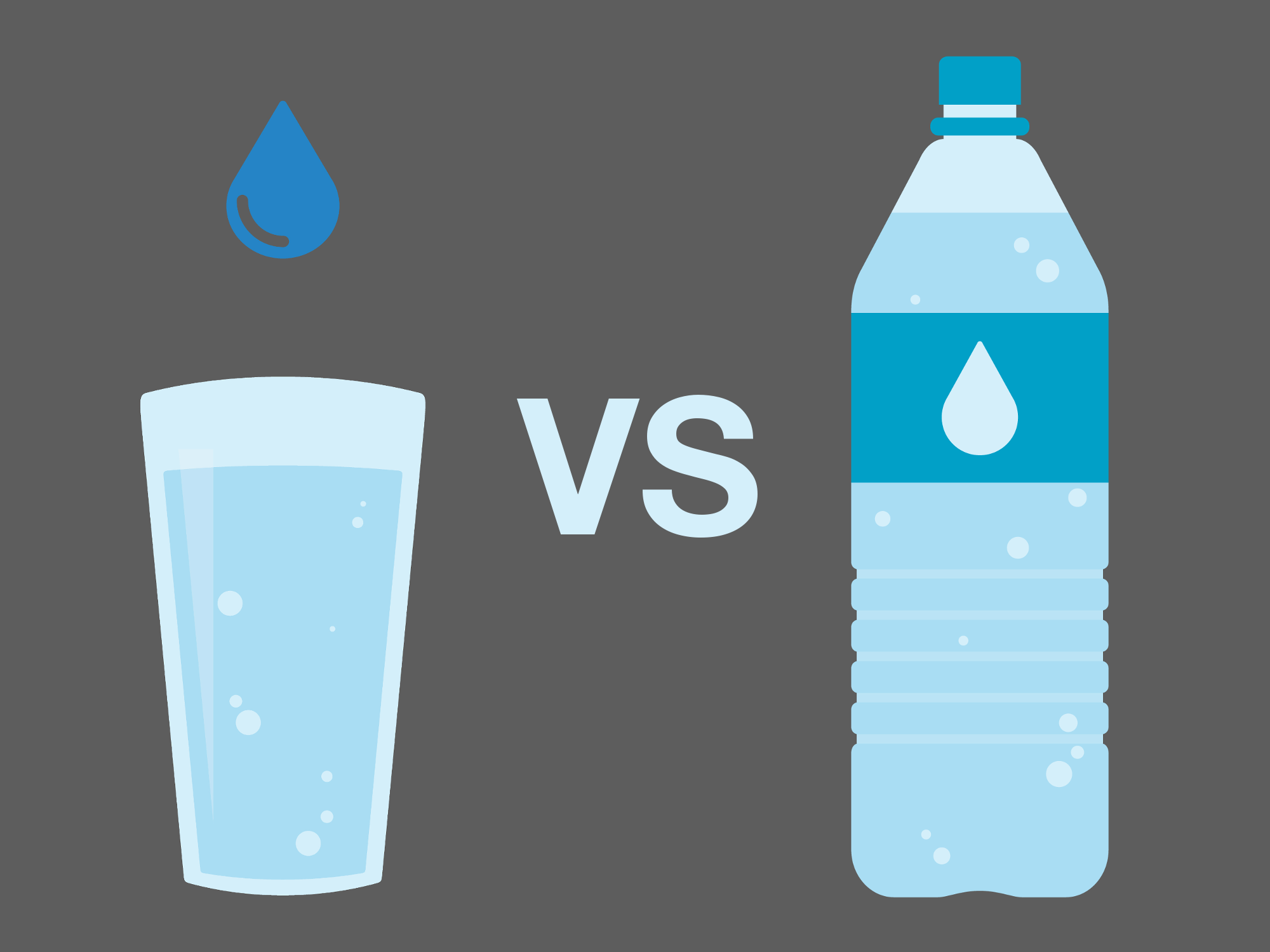 bottle v tap Far too many countries purchase bottled water instead of just taking it from the tap not only is this common practice wasteful, the water consumed is frequently less safe than what comes out of your faucet read more about the truth of bottled water in this graphic.