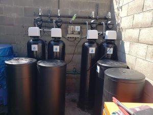 Glenwoood Care Center, water treatment system installation