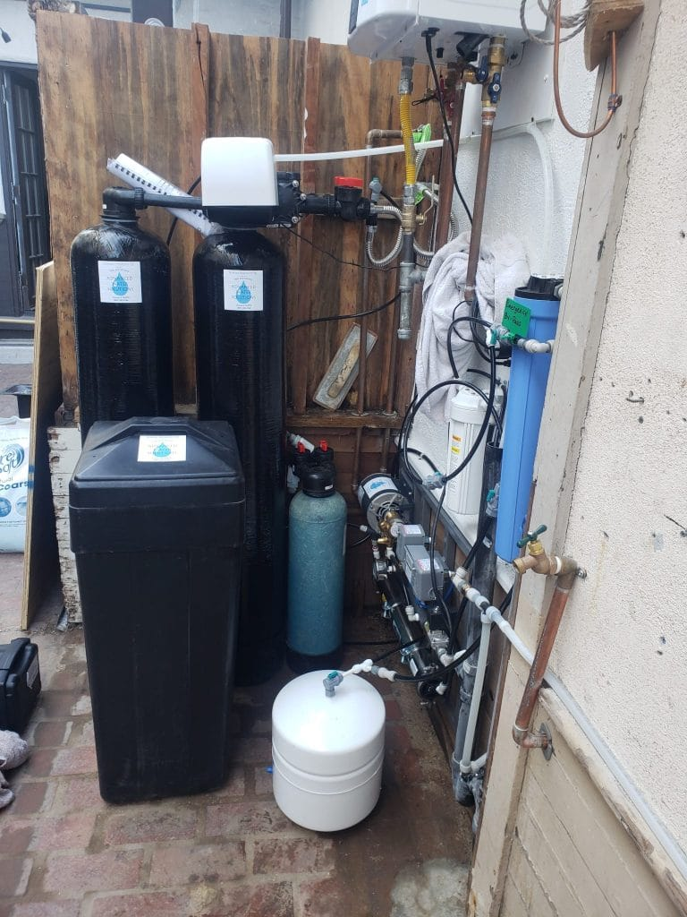Water solutions, installation photos